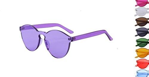 Retro Fashion Sunglasses Purple