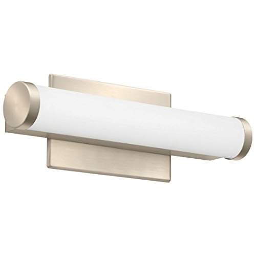 Lithonia Lighting FMVCCLS 12IN MVOLT 30K35K40K 90CRI BN M6 Vanity Fixture, 12-Inch, Color Temperature Switchable