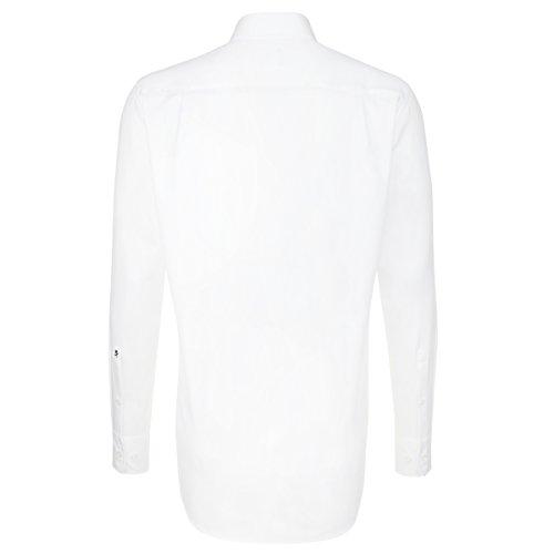Classico Camicia 0001 Uomo Seidensticker Bianco weiß vwgnq5