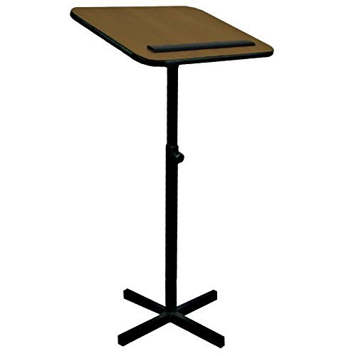 Amplivox W330 - Xpediter Adjustable Lectern Stand W330-MO by Amplivox