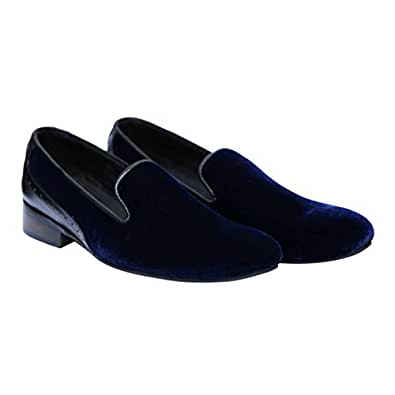 Turk & Fillmore Blue Loafers & Moccasian For Men