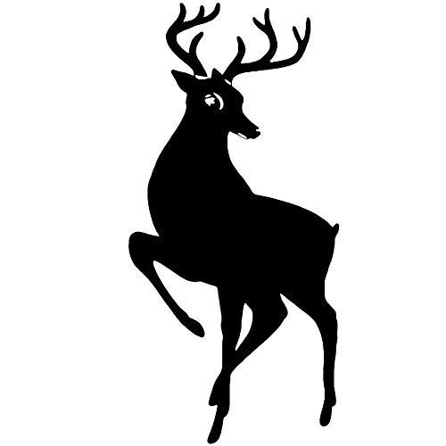 Yilooom Sticker Decoration Noel Reindeer Majestic (20x10 cm 60x28 cm)