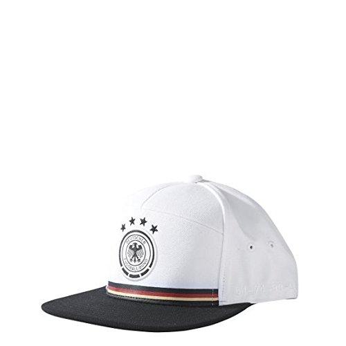 adidas Mütze DFB legacy kappe Fußball, Weiß/Schwarz, OSFM, AH5731