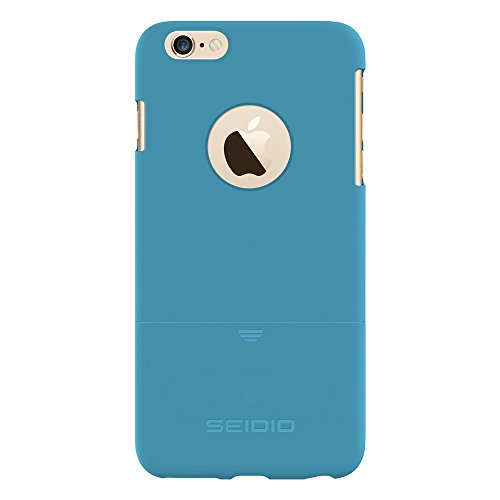 Seidio Innocase Surface Case - Seidio SURFACE Reveal Case for Apple iPhone 6 Plus - Retail Packaging - Electric Blue
