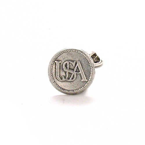 USA Tie Tack Lapel Pin Suit Vintage Union Style Civil War Soldier Army Navy Police Marines Air Force