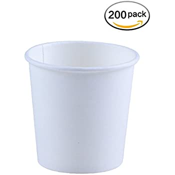 Amazon Com White Paper Water Cups 3 Oz 100 Pack
