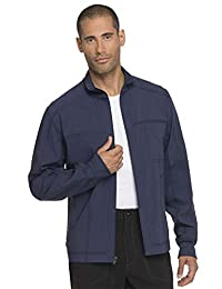 dickies Men's Zip Front Scrub Jacket