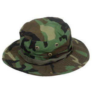 8282f798143 Image Unavailable. Image not available for. Color  Fishing Hunting Army  Marine Bucket Jungle Cotton Military Boonie Hat Cap Woodland Camo