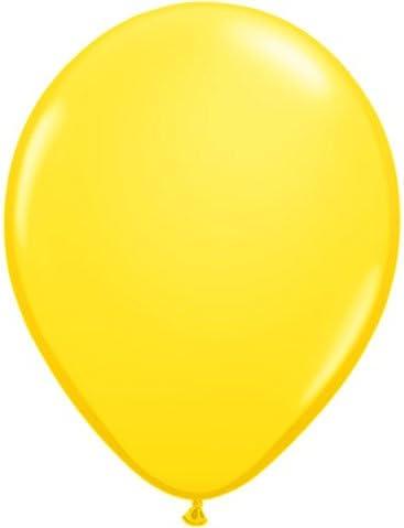 Yellow Qualatex 16 Inch Latex Balloons
