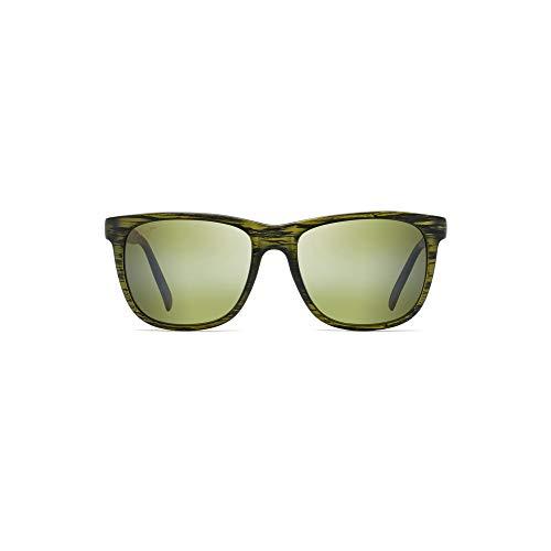 ac36cc5d3d Maui Jim Unisex Tail Slide Matte Green Stripe One Size   Weshop Vietnam