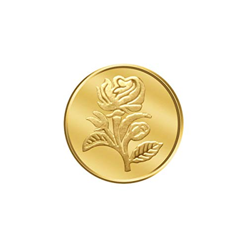 3547.507273 PC Jeweller Floral 24 995 K Gold Coin  0.5 g