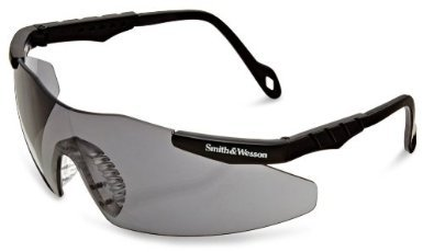 604ca71a837 Jackson Smith   Wesson 3011674 Magnum Safety Glasses Black Frame Smoke Lens  1 Pair