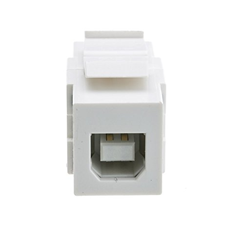 USB A to B Adapter 50 Pack Type A Female to Type B Male GOWOS