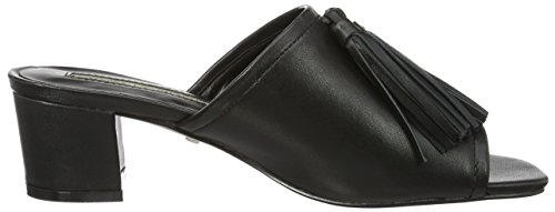 Buffalo London 182056, Sandalias Mujer Negro (BLACK 01)