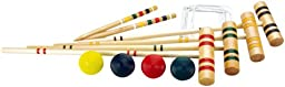 Halex Classic 4 Player Croquet Set in Carry Bag