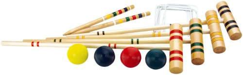 Halex Classic 4 Player Croquet Set in Carry Bag by Halex