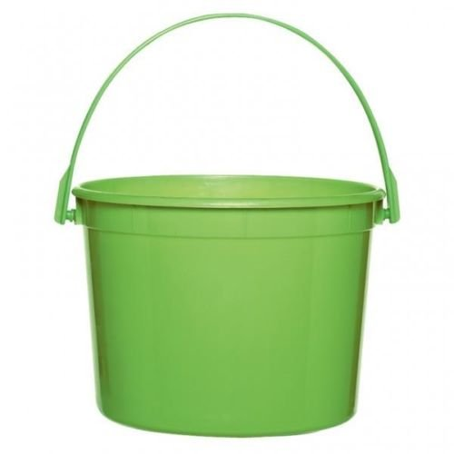 Candy Buffet/Easter Spring Theme Lime Green Plastic Buckets