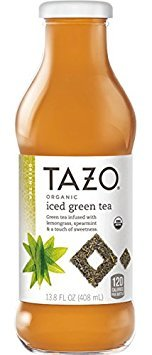 Tazo, Organic Iced Tea, 13.8 Oz (Pack of 12) (Tazo Organic Iced Tea)