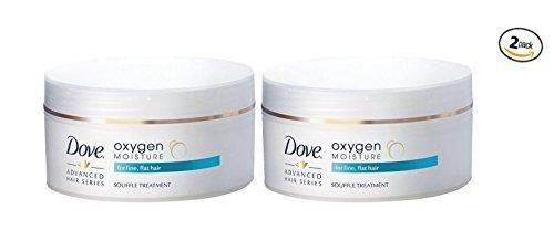 Dove Oxygen Moisture Souffle Treatment 4.8 oz (Pack of 2)