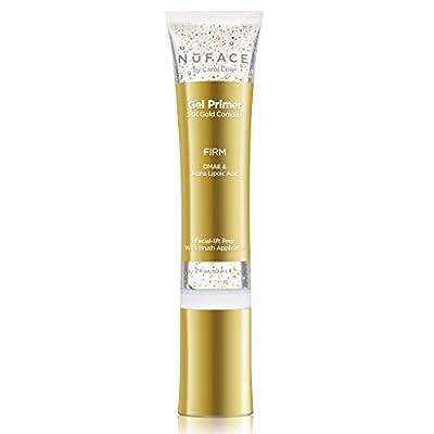 NuFACE 24K Gold Firming Gel Primer | Fragrance-Free | Lightweight Application | Excellent for Tightening & Toning Skin | 2 fl. oz.