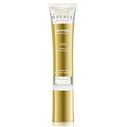 NuFACE 24K Gold Firming Gel Primer | Fragrance-Free | Lightweight Application | Excellent for Tightening & Toning Skin | 2 fl. oz.