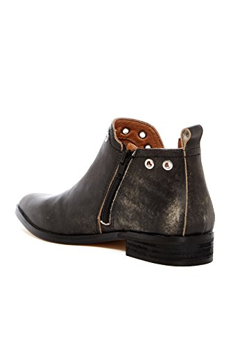 Corso Como Womenss Diana Bootie, 8 M US, Black Worn Leather.