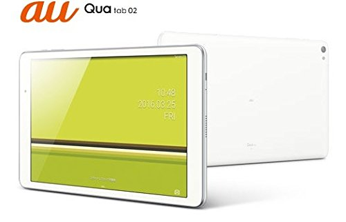 Qua tab 02 AU HWT31SWA [White] 白ロム