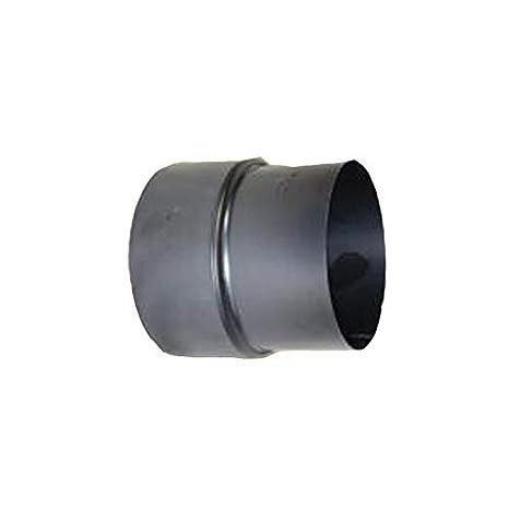Tubo de humos, estufa 2 mm - Reducción{180} -{160} negro: Amazon.es: Hogar