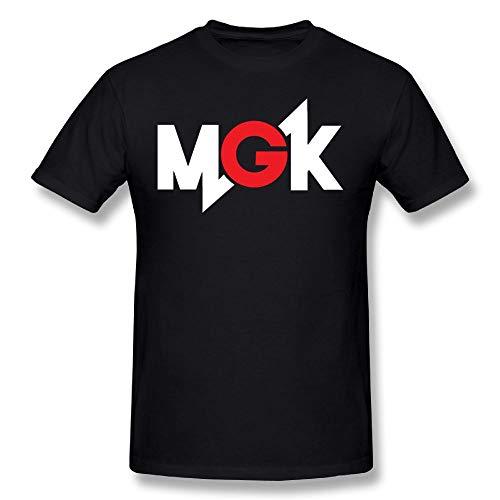 LIFETS Men's Machine Gun Kelly MGK Logo T-Shirt S Black (Machine Gun Kelly Story Of The Stairs)