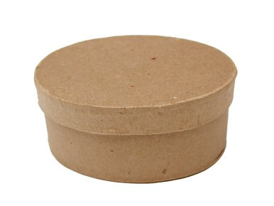 Candy Mache Paper - Factory Direct Craft Group of 12 Ready to Personalize Oval Paper Mache Boxes with Lid for Trinkets, Candies, and More