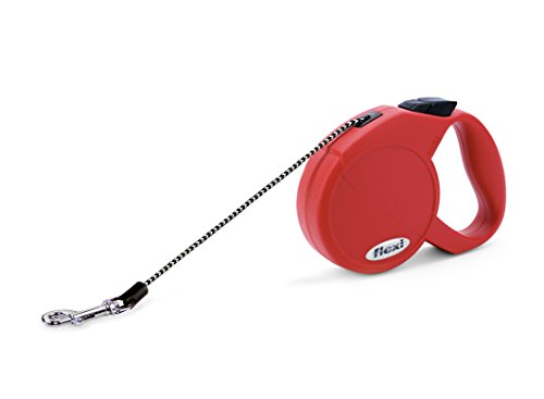 Flexi Freedom Retractable Cord Leash Dog Leash , Extra Small, 10-Feet Long, Supports up to 18-Pound, Red