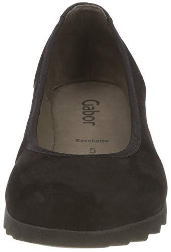Gabor Femme Noir Basic Gabor Schwarz 17 Escarpins Shoes qwPaH4q