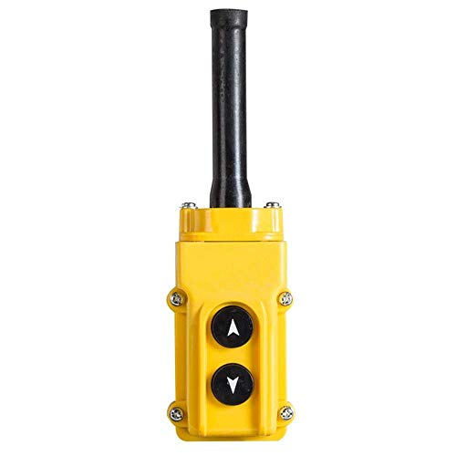 (BestTong Rainproof COB-61 Crane Pendant Control Station UP Down Hoist Push Button)