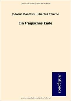 Book Ein tragisches Ende