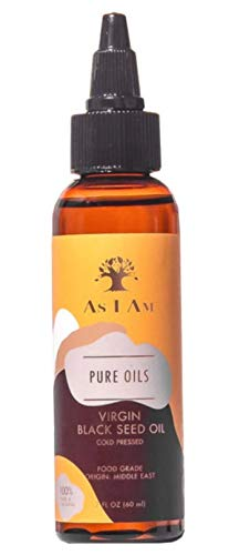 Amazon.com: As I Am Pure Oils Aceite de semilla negra virgen ...