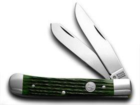 Amazon.com: Boker Árbol marca jigged Verde Hueso Trapper ...