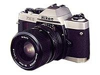 Nikon FM-10 35mm SLR Camera Body Kit With Nikon 35-70mm F3.5-4.8 Zoom Lens & Case - International Version (No Warranty)