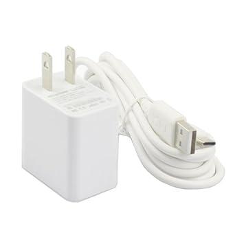 Amazon.com: AC Cargador Adaptador de alimentación para ...