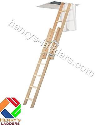 Madera Escalera para desván Henry Vertical - Mezzanine acceso escalera. Madera Escalera de cabeza deslizante Vertical. Rebecca