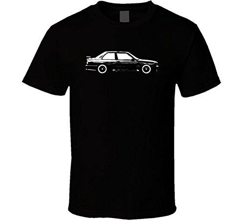 1986 Bmw 3 Series M3 E30 Vintage Car Lover Driver Gift T Shirt S Black