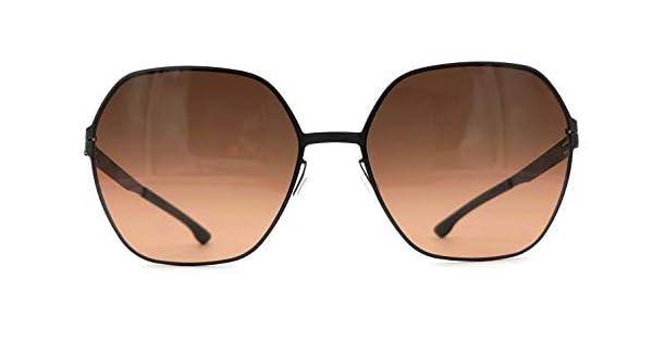 Amazon.com: ic! berlin Jacy C. Gafas de sol hexagonales de ...
