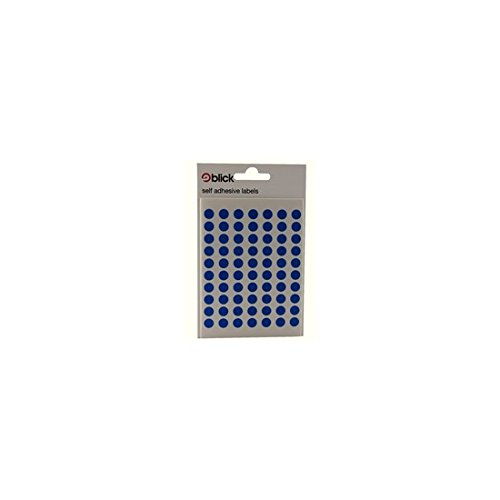 Blick Label Bag - BLICK LABEL BAG 8MM BLUE PK490 002055