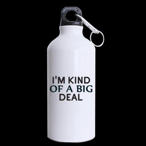 I m tipo de a Big Deal aluminio botella para hacer deporte, deporte botella