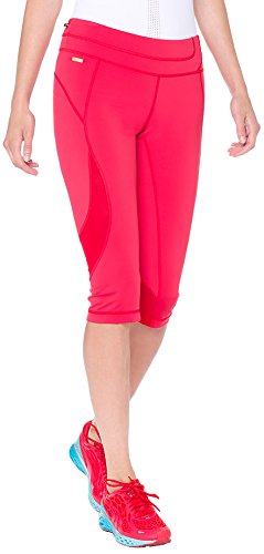 LOLE Women's Run Capris, Large, Chillies