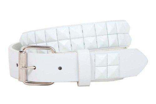 White Rock Star Studded Belt - 1
