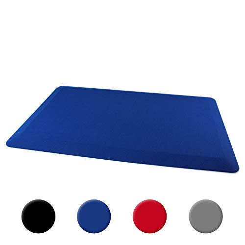 Ultralux Premium Anti-Fatigue Floor Comfort Mat | Durable Ergonomic Non-Slip Standing Mat | 3/4