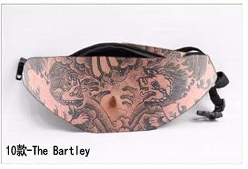 Dad Bag Fanny pack-3D Men Beer Belly Waist Packs,Waist Pocket Cell Phone Holder Funny Gag Gifts for Christmas