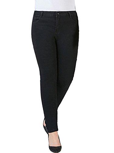 Black Jeans Burvogue Burvogue Jeans Donna vO6Ix