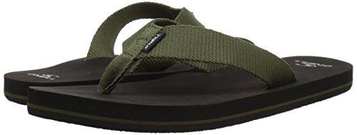 O'Neill Men's Bolsa Sandal Flip-Flop, Army, 10 Medium US by O'Neill (Image #5)
