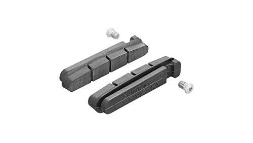 Shimano R55C Ceramic Cartridge TYPE Bicycle Brake Shoe Pads - 2 Pair - Y8FA98152 Cartridge Type Brake Shoe